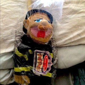 Melissa & Doug Fireman Puppet!
